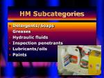 hm subcategories5