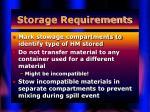 storage requirements41