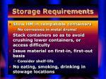 storage requirements42