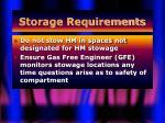 storage requirements44