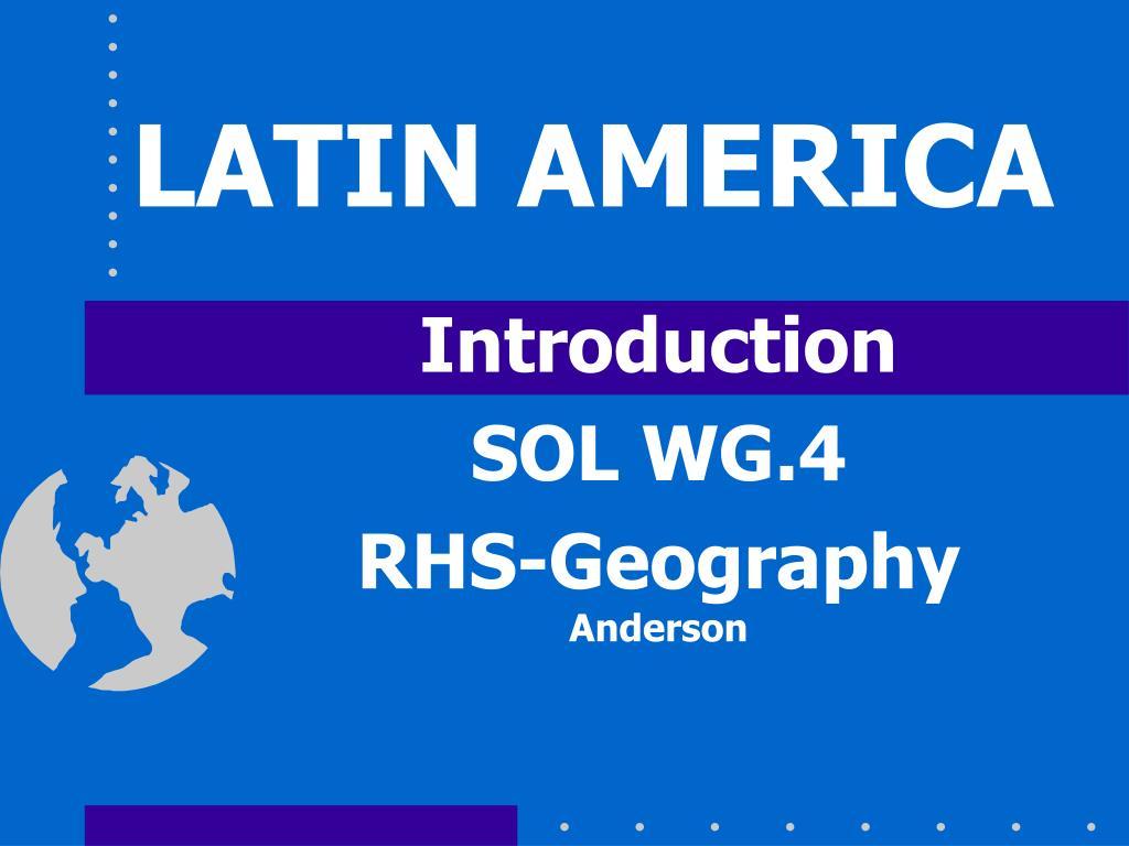 latin america l.