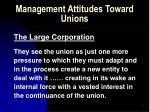 management attitudes toward unions55