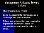 management attitudes toward unions56