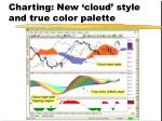 charting new cloud style and true color palette