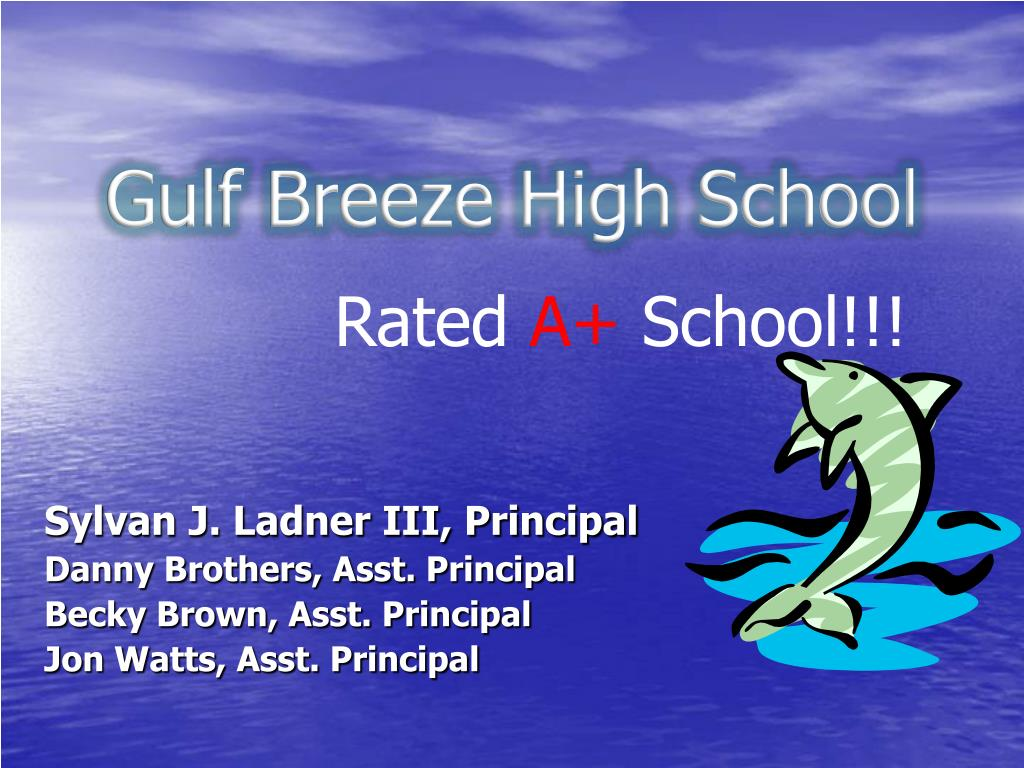 gulf breeze high school l.