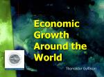 economic growth around the world