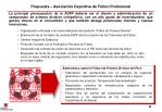 propuesta asociaci n deportiva de f tbol profesional