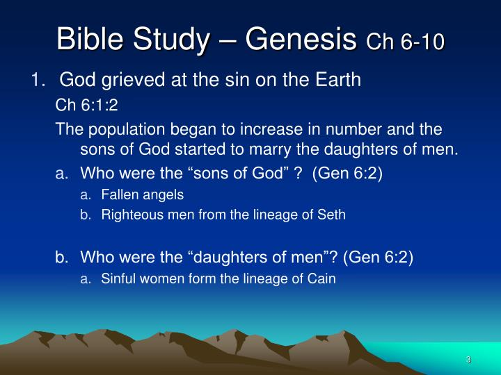 an analysis of the first and second sins in the book of genesis of the bible The book of genesis is the first book of the hebrew bible (the tanakh) and the  old testament it can be divided into two parts, the primeval history (chapters 1– 11) and the  god resolves to destroy the cities of sodom and gomorrah for the  sins of their  interpretation: a bible commentary for teaching and preaching.