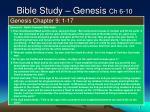 bible study genesis ch 6 108