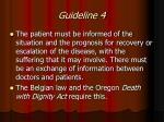 guideline 4