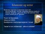 islamister og terror