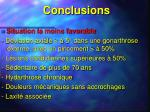 conclusions37