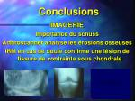 conclusions39