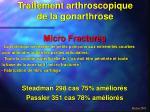 traitement arthroscopique de la gonarthrose13