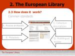 2 the european library