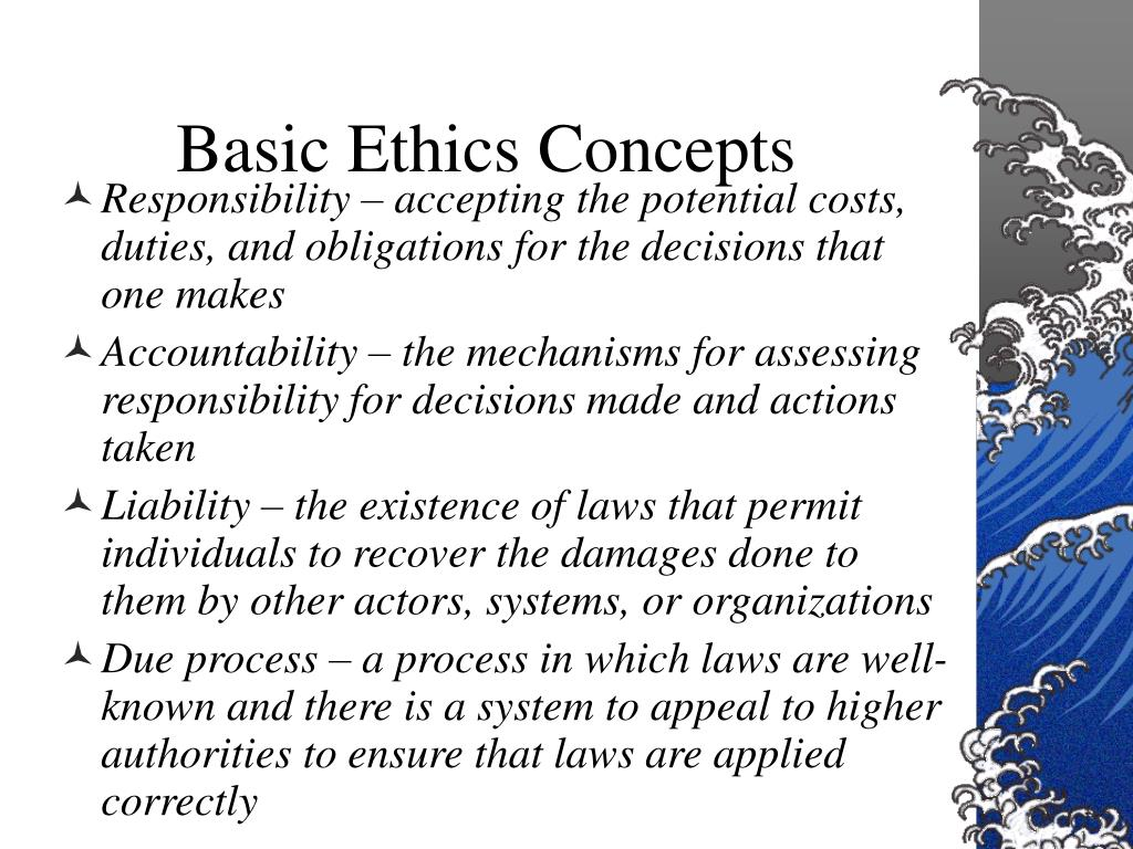 Basic Ethics Concepts