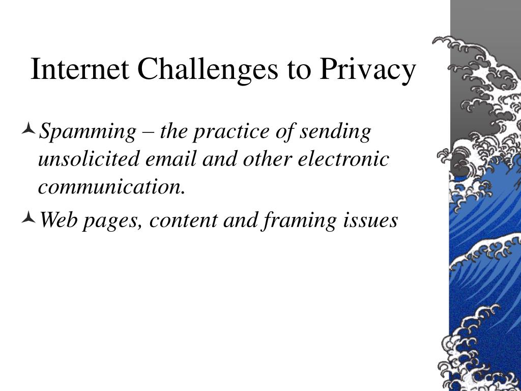 Internet Challenges to Privacy