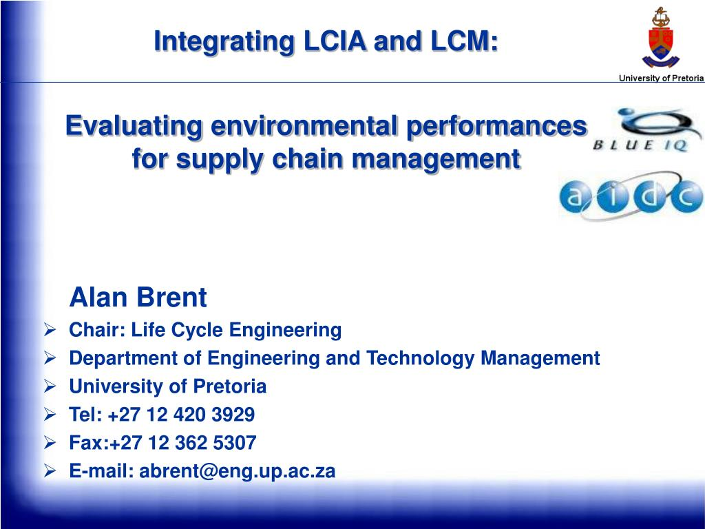 Integrating LCIA and LCM: