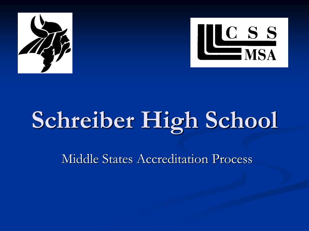 Schreiber High School