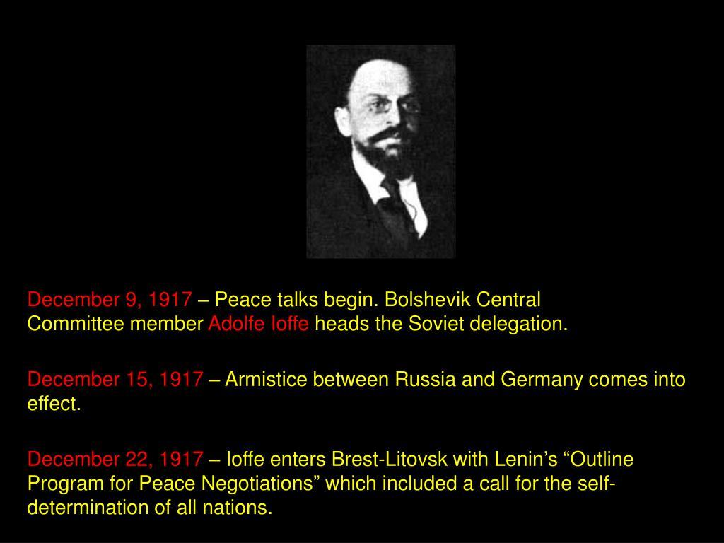 December 9, 1917