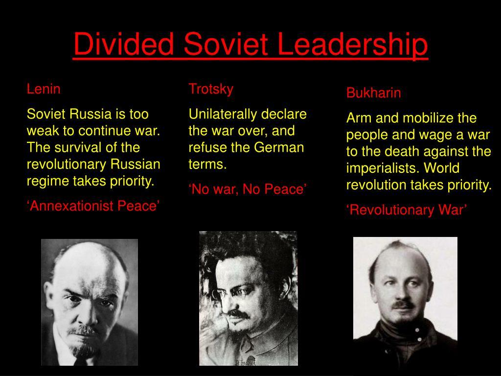 Divided Soviet Leadership