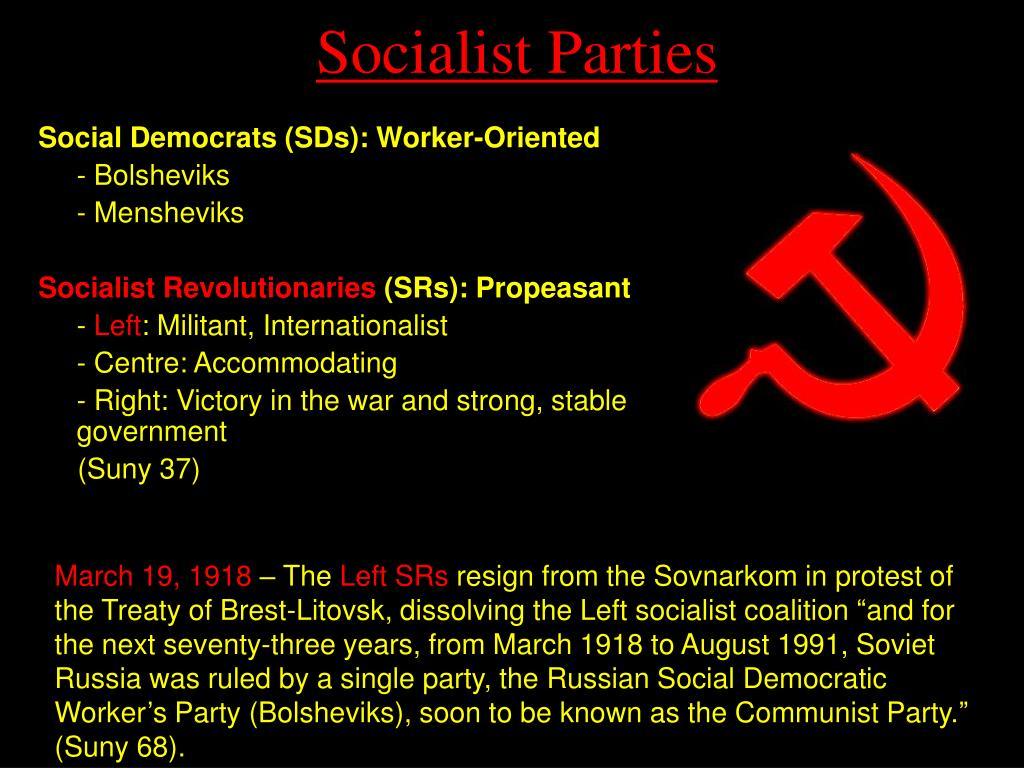 Socialist Parties