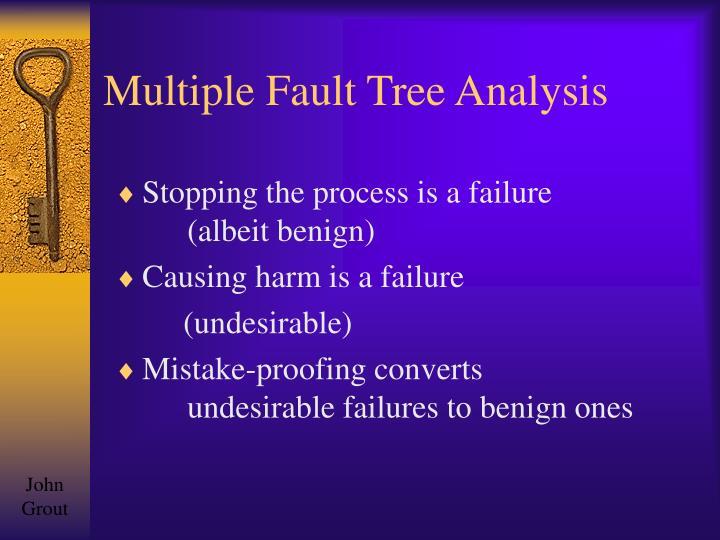 Multiple Fault Tree Analysis