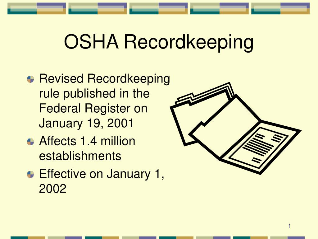 osha recordkeeping l.