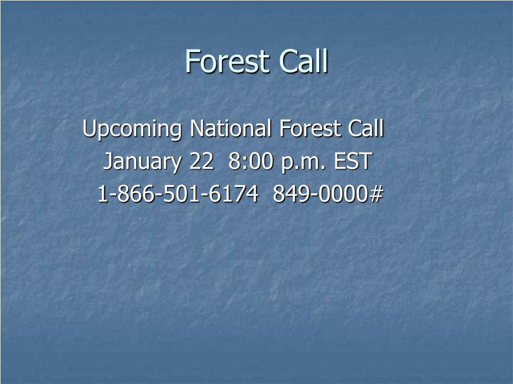 Forest Call