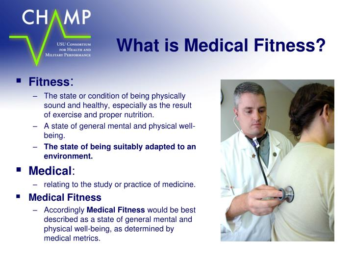 What is medical fitness
