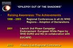 epilepsy out of the shadows9