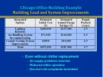 chicago office building example building load and system improvements