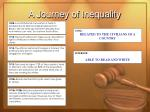 a journey of inequality17