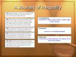a journey of inequality19