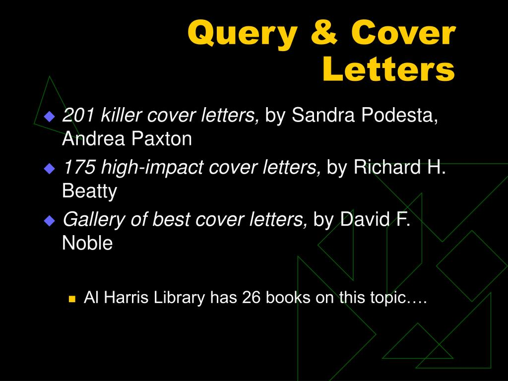 Query & Cover Letters