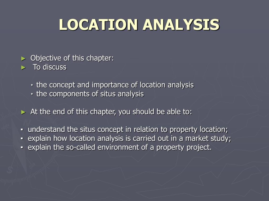 location analysis l.