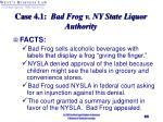 case 4 1 bad frog v ny state liquor authority