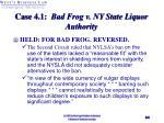 case 4 1 bad frog v ny state liquor authority24