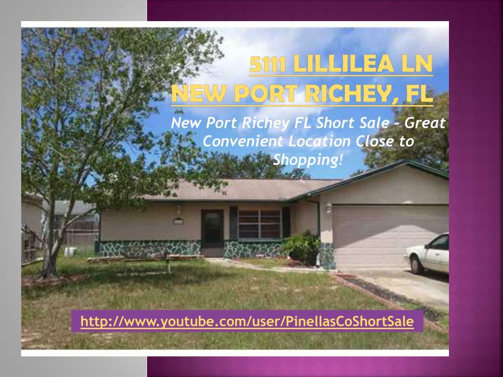 5111 lillilea ln new port richey fl l.