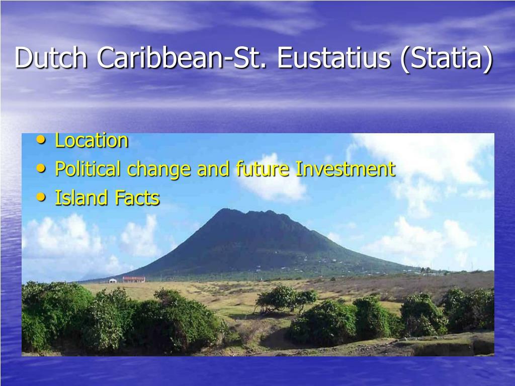 dutch caribbean st eustatius statia l.