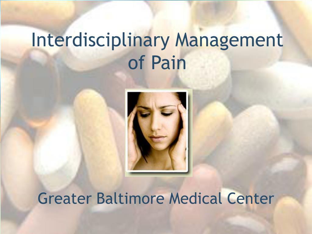 interdisciplinary management of pain l.