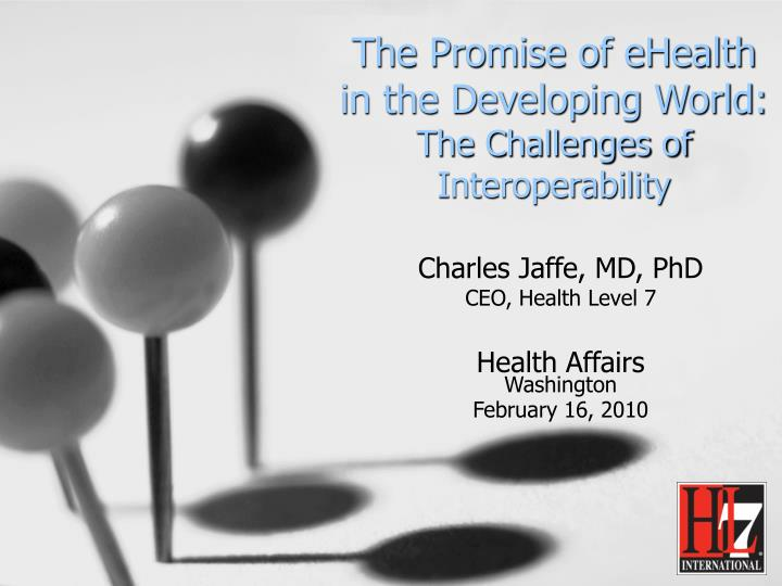 the promise of ehealth in the developing world the challenges of interoperability n.