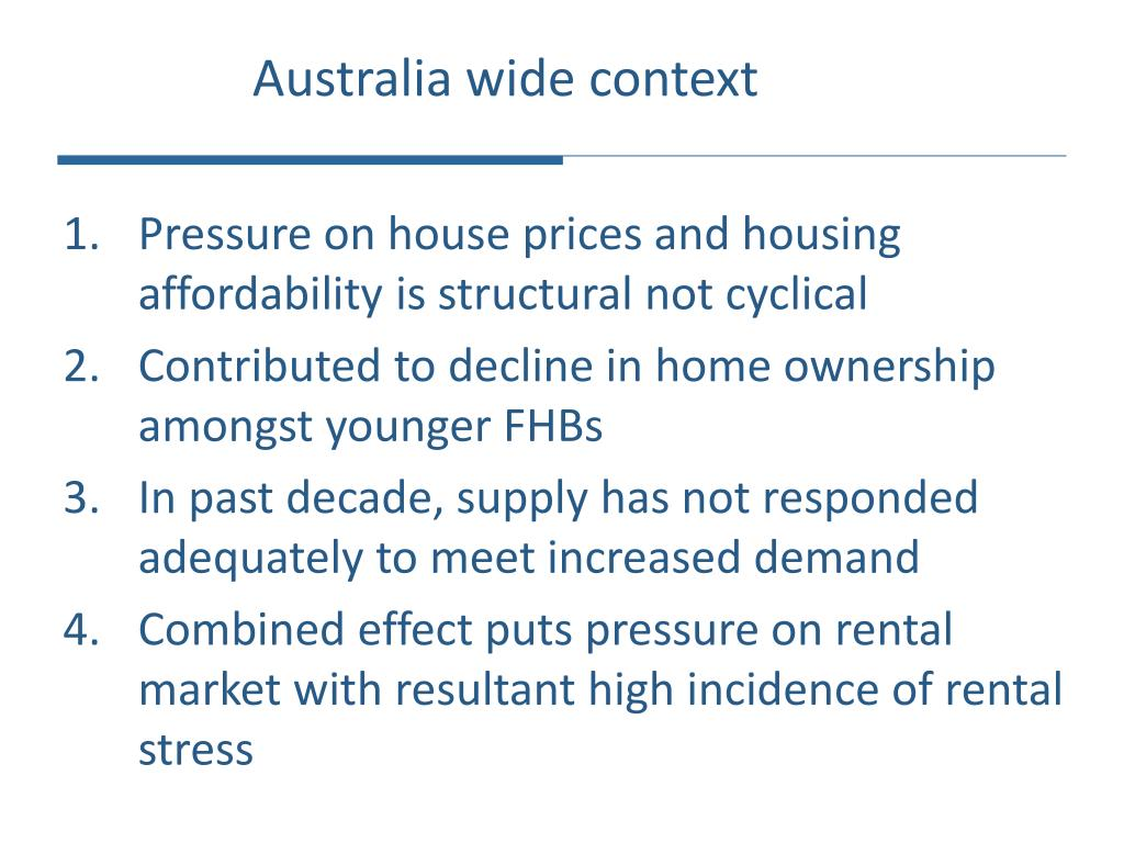 Australia wide context