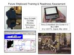 future shipboard training readiness assessment