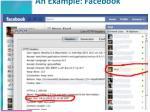 an example facebook