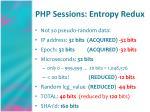 php sessions entropy redux24