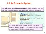 1 3 an example system15