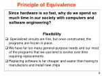 principle of equivalence6