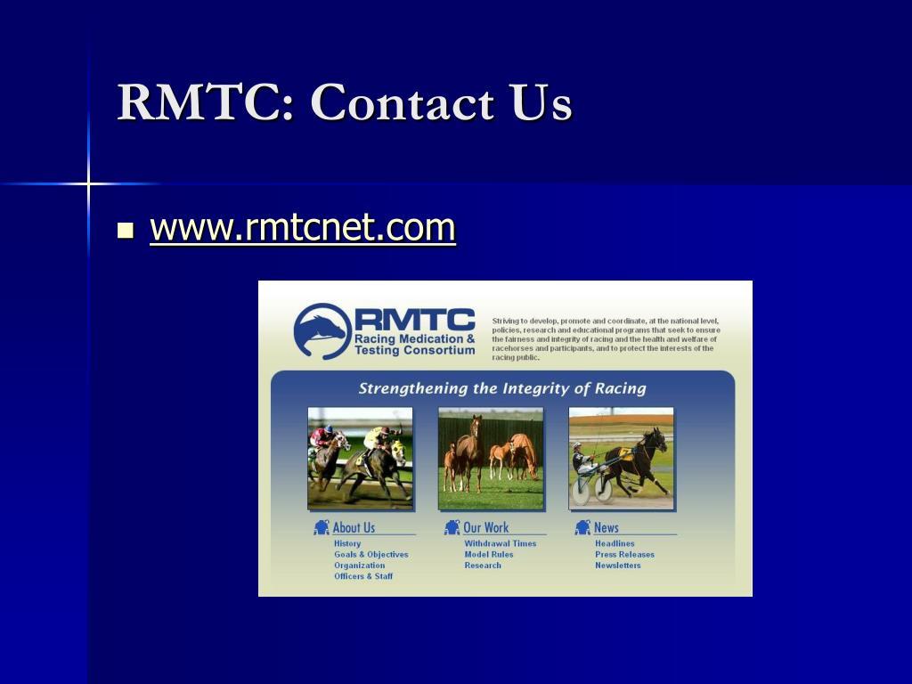 RMTC: Contact Us