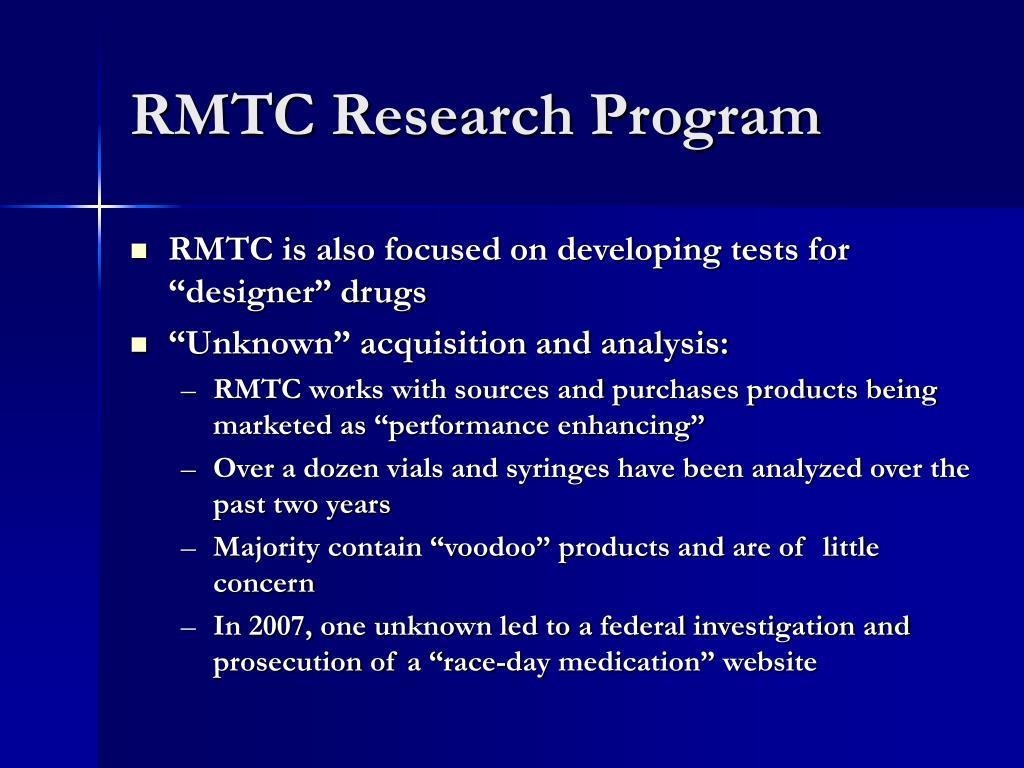 RMTC Research Program